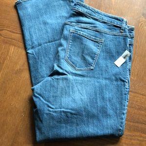 NWT Old Navy Secret Slim Bootcut Denim Jeans